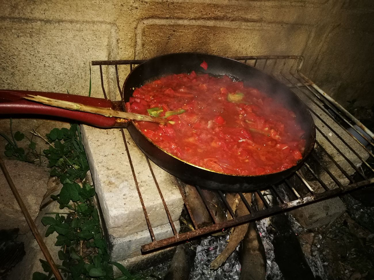 Tomato Sauce Hot Spices Huawei P9 Plus Special👌shot Nightshot🌙 In The Garden Food Ready-to-eat