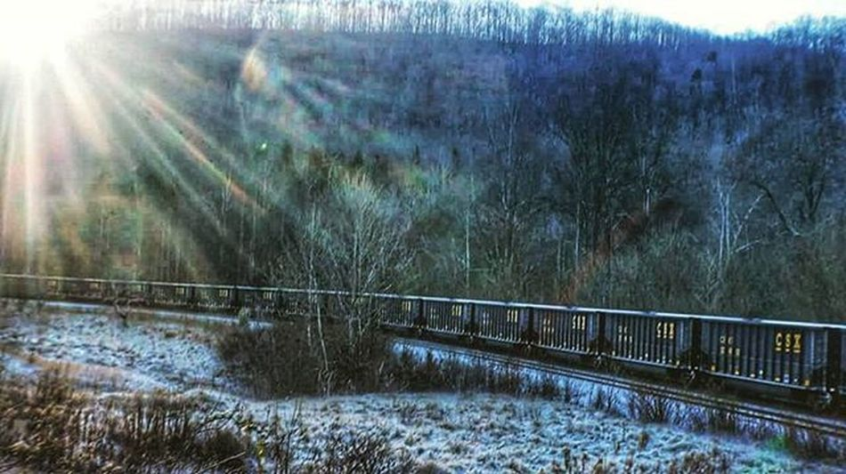Sunrise Igers_of_wv Wv_igers Westvirginia Railroad Country_features Kings_transports Tv_rural Firstsnow Ajl_rural Ig_addicts_fresh Jj_unitedstates Ipulledoverforthis Pocket_rail Rsa_theyards Momentsinnature Picture_to_keep Snapshots_daily Tain Traintracks