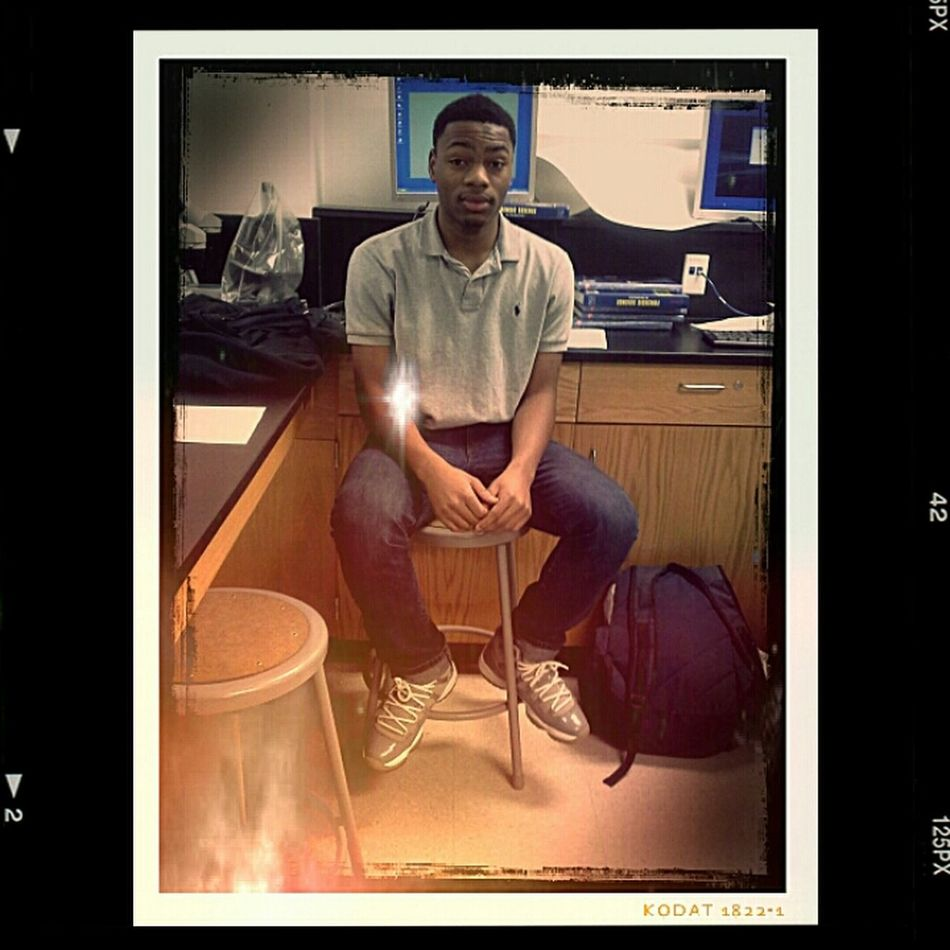 Chillin In Class Last Friday..wish Tommrrow Was Friday