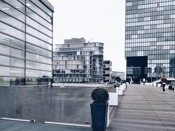 Architecture Day Built Structure Outdoors Building Exterior Sky EyeEm Gallery Hafendusseldorf Street Photography Eyeemphotography Travel Photography Traveling Architecture City Street Travel Destinations Bridge Over Water Diary