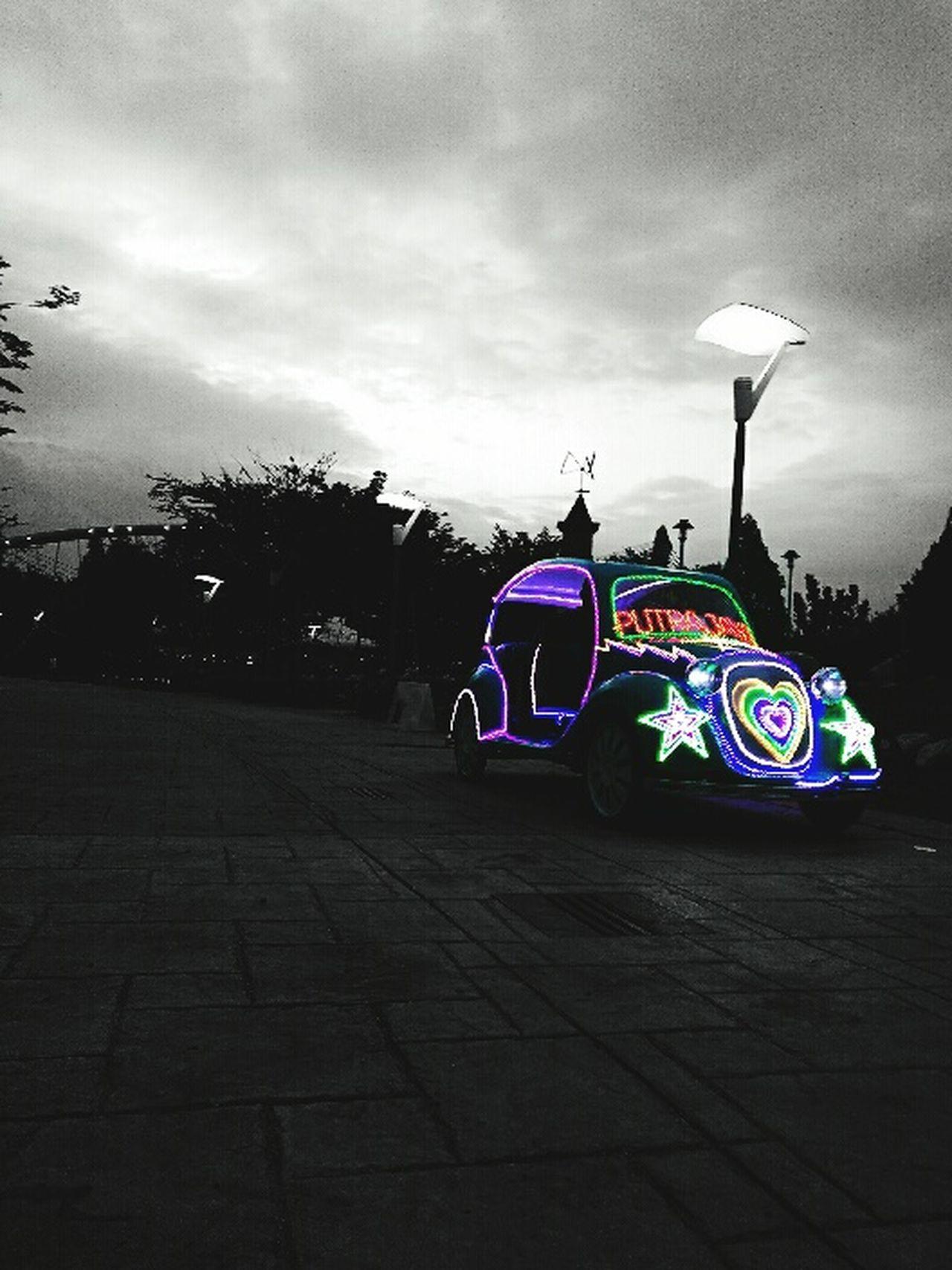 Putrajaya Fun Ride Cabby Malaysia Outdoors Illuminated Car