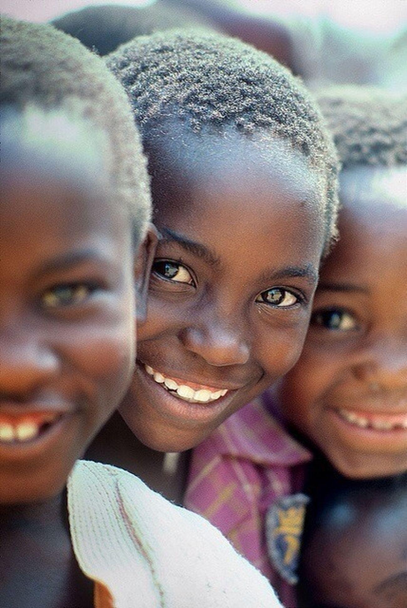 Smile Zimbabwe.