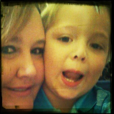 me and my handsome little feller