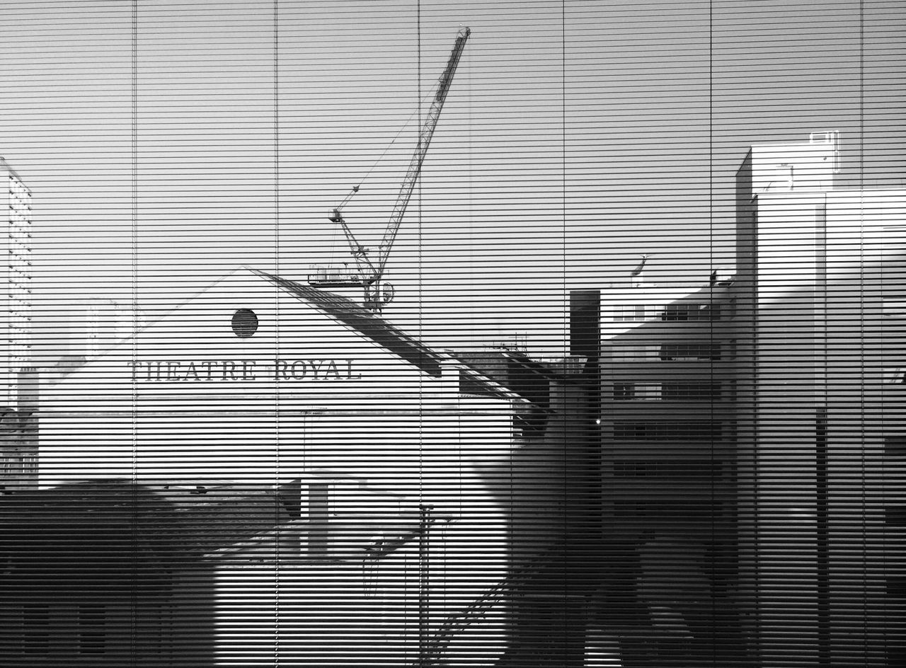 Theatre Royal, Glasgow Glasgow  Theatre Building Architecture Cityscapes Blinds Window View From The Window... Scotland Blackandwhite Black And White Black & White Monochrome Bnw Streetphotography Monochrome Photography