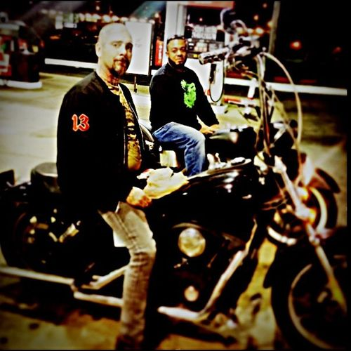 Interracial Friendship Just A Nazi And His Best Friend Philly Biker And Their Harley's
