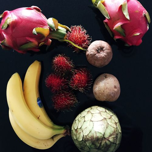 Dragonfruit Rambutan Passionfruit Bananas Fruits Cherimoya