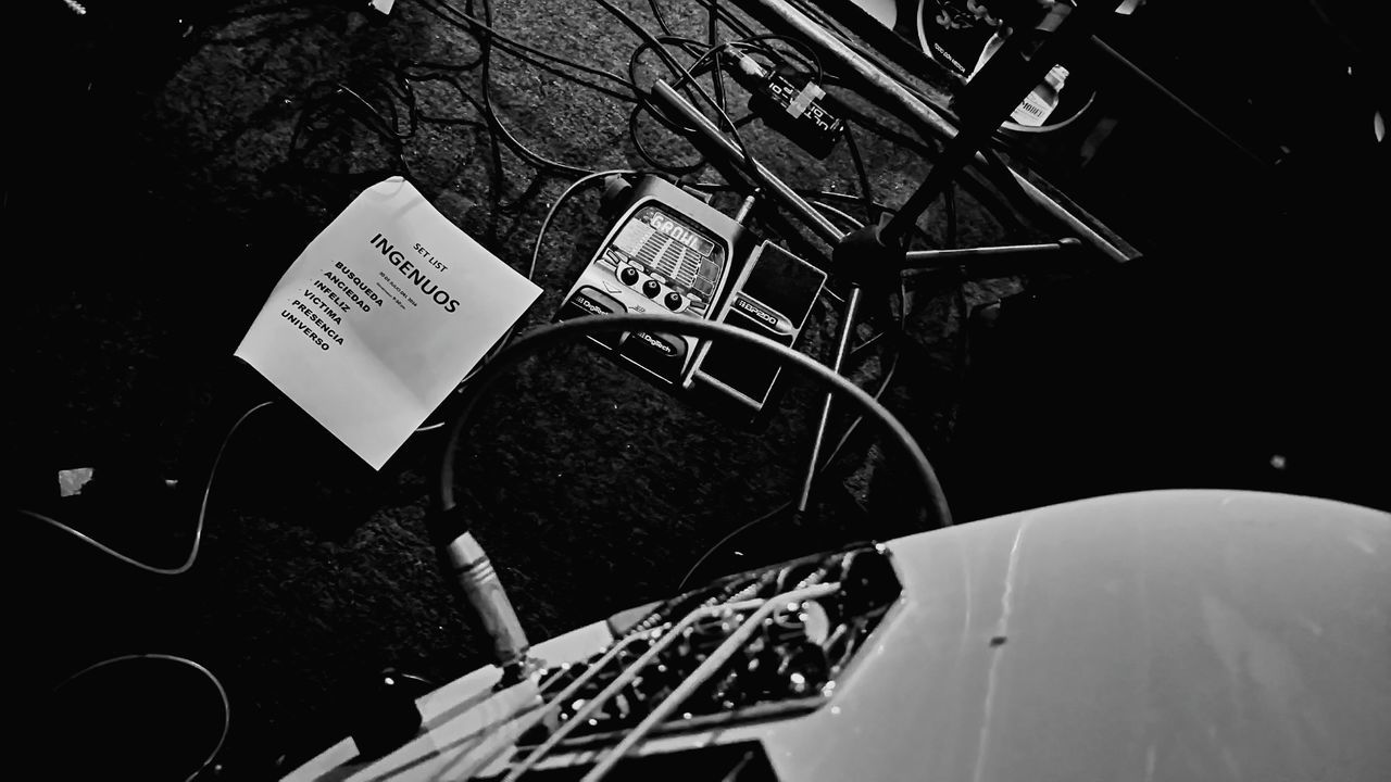 El set list del 30 de Julio Rock RockPop Music BandOfRock Bassist Bass Guitar Playtheguitar Playthemusic Show Mexico City Mexican