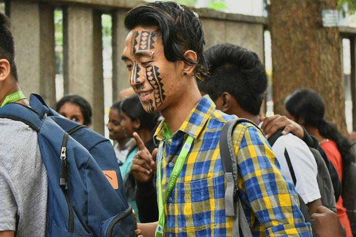 The Week On EyeEm Facepainting Urbanphotography Urban nature Man At Work College Days Tribaltattoo Tribesmen Life Love EyeEmNewHere