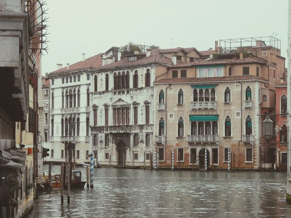 Italy❤️ Amazing Architecture Facades Classic Reinessance Romantic❤ River Old Buildings EyeEm Gallery Damaged Wall Attached Buildings Riverside Old Houses Eye4photography  EyeEm Best Shots Landscapes With WhiteWall Canal