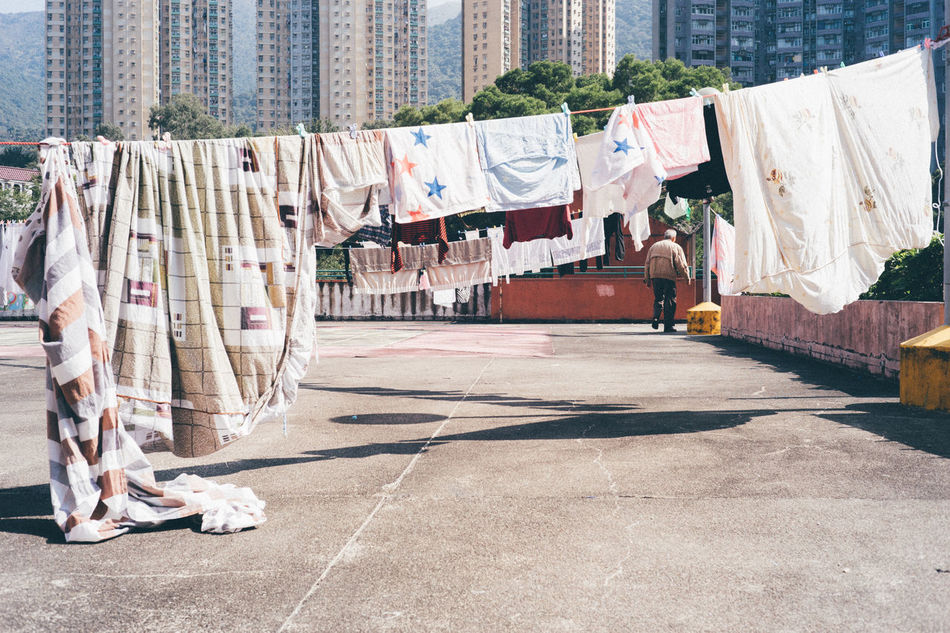 City Clothing Day Hanging Multi Colored No People Outdoors Social Issues Sunlight