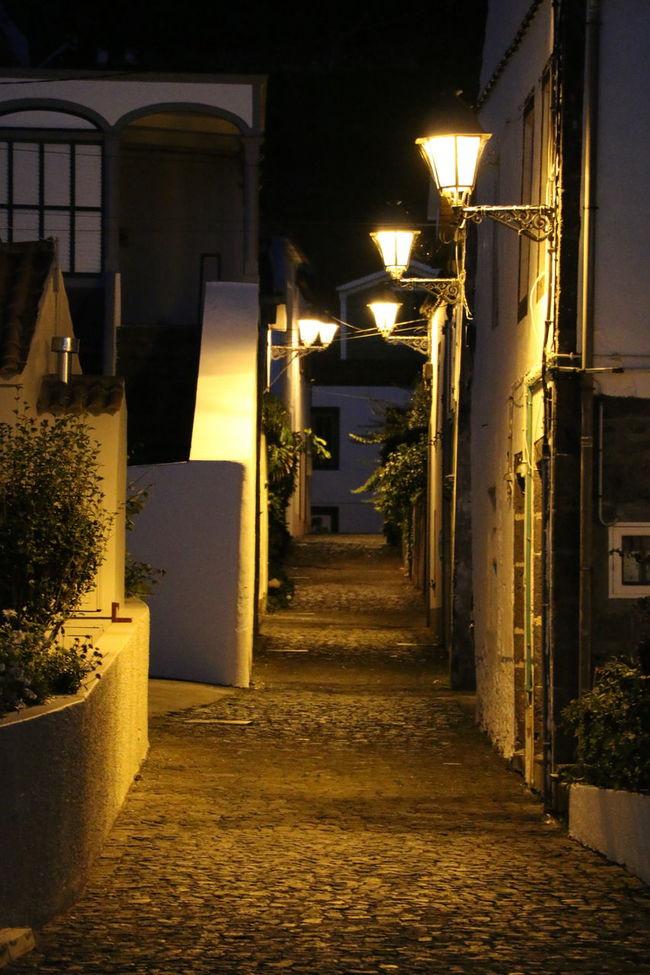 Street Houses Lights Lanterns Pico Island Portugal Azores Island Canonphotography Canon 70d Pretty Ethos Pico Vulcano Island Atlantic Ocean Enjoying Life