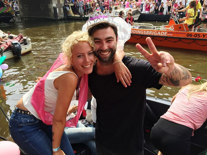 Colors Of Carnival Canal Pride Amsterdam 2015 Happy People Happy Love Faces Of Summer Share The Love In Love Your Amsterdam The Portraitist - 2016 EyeEm Awards