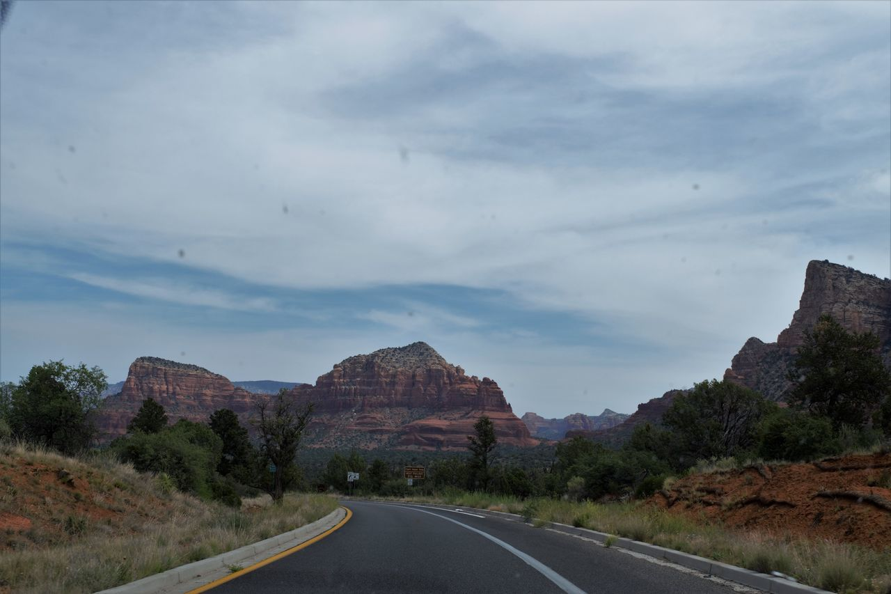Arid Climate Arizona Desert Arizona Landscape Beauty In Nature Canyon Cloud - Sky Day Landscape Nature No People Outdoors Road Scenics Sky Tranquility Winding Road Roadtrip Road Trip Scenic Scenic View Scenic Landscapes Asphalt Desert Beauty Desert Life Desert Landscape