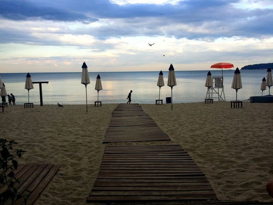 Sea Water Horizon Over Water Beach Sitting Sky Men Tranquility Lifestyles Cloud Relaxation Beauty In Nature Outdoors Cloudy Lonely Lonelybeach Lonelybeachwalks Loneliness Sand Wooden Excotic Blacksea Seaside Traveling Trip