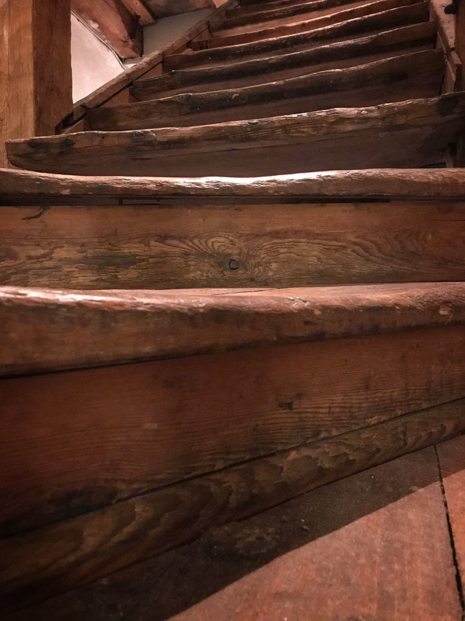 no people, indoors, wood - material, low angle view, day, architecture, close-up