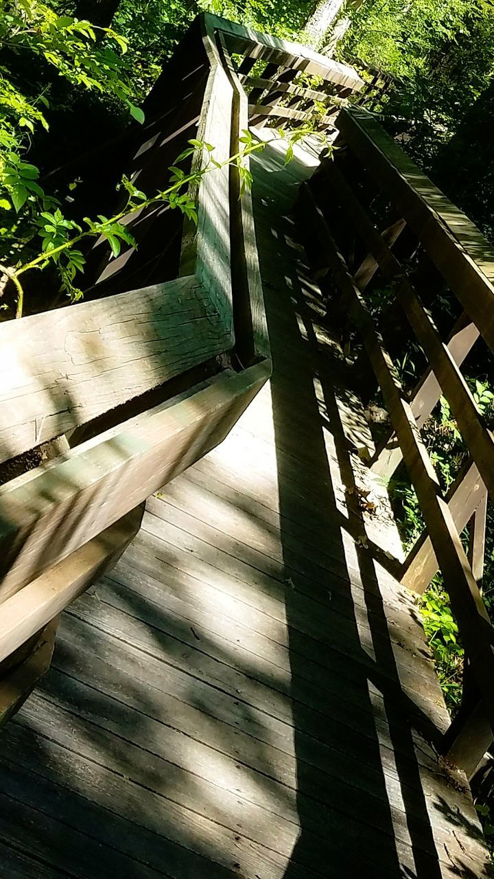 wood - material, sunlight, day, shadow, no people, outdoors, tree, nature, close-up