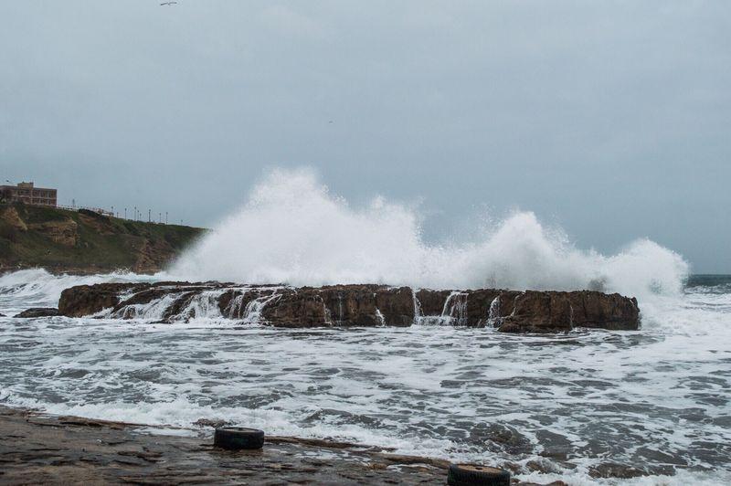 Waves Winter Foggy Shore Fog Wind Storm Waterfall Water_collection Rock Seascape Seaside EyeEm Gallery Nature_collection EyeEm Best Shots Eye4photography  EyeEmBestPics First Eyeem Photo