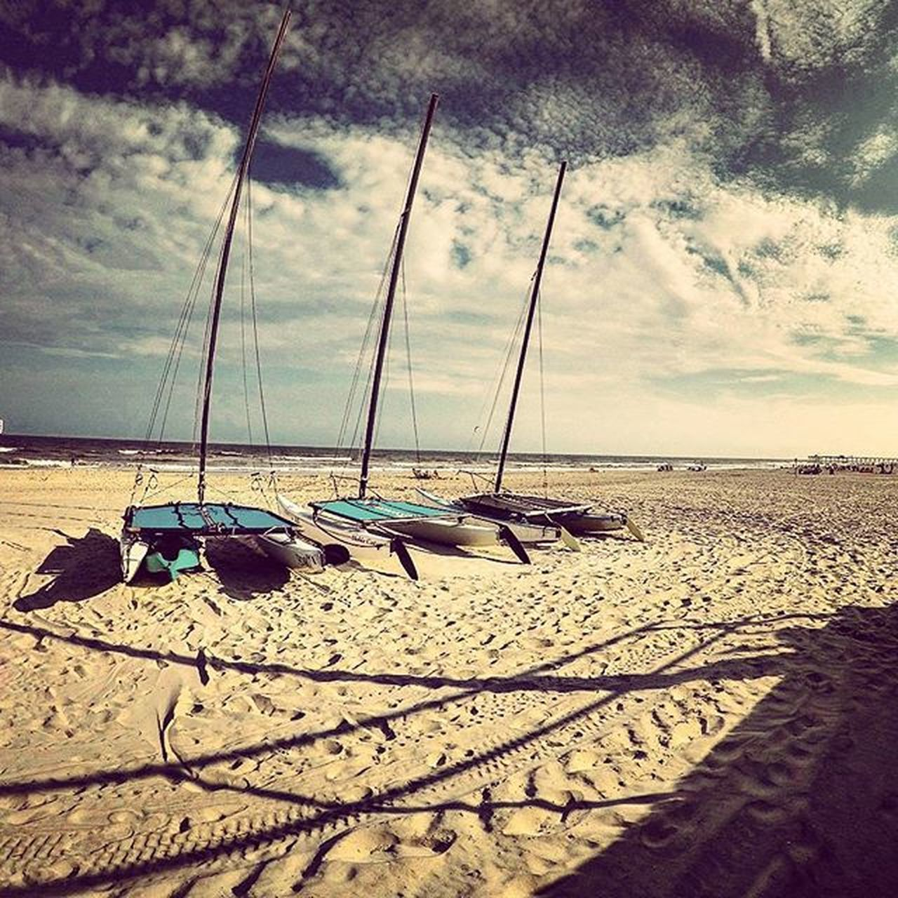 sand, beach, sea, shore, sky, water, cloud - sky, horizon over water, nature, scenics, beauty in nature, tranquility, tranquil scene, outdoors, no people, day, nautical vessel, moored