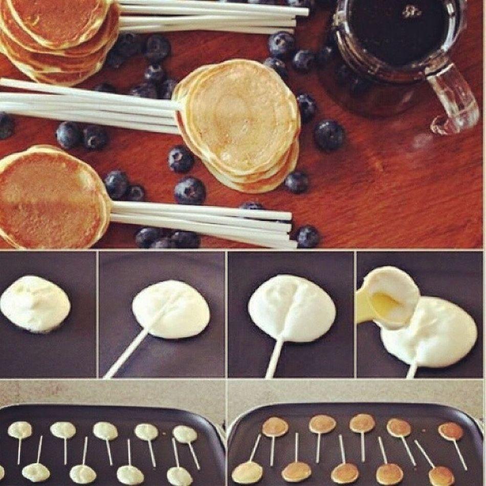 Pancakes PancakePops WeShouldTryIt