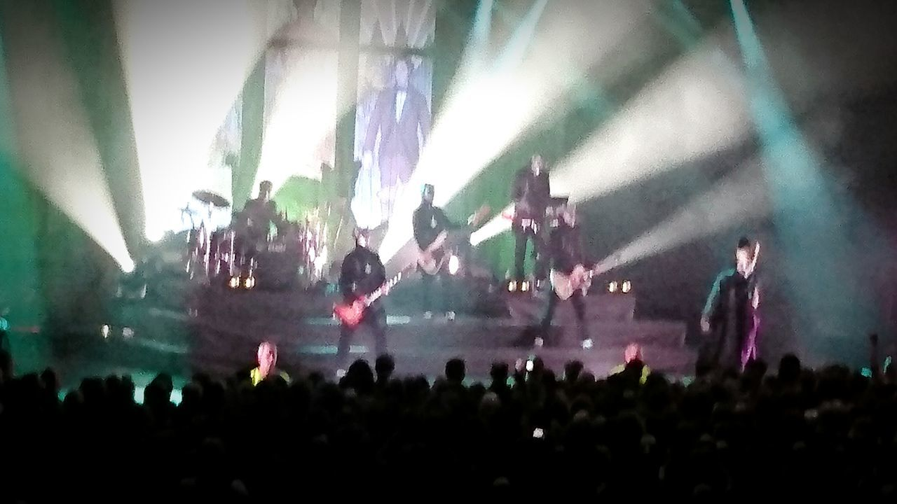 Ghost consert Ghost Ghostbc  Rock Great Performance Having Fun Quality Time Enjoying Life Sony Xperia Z5