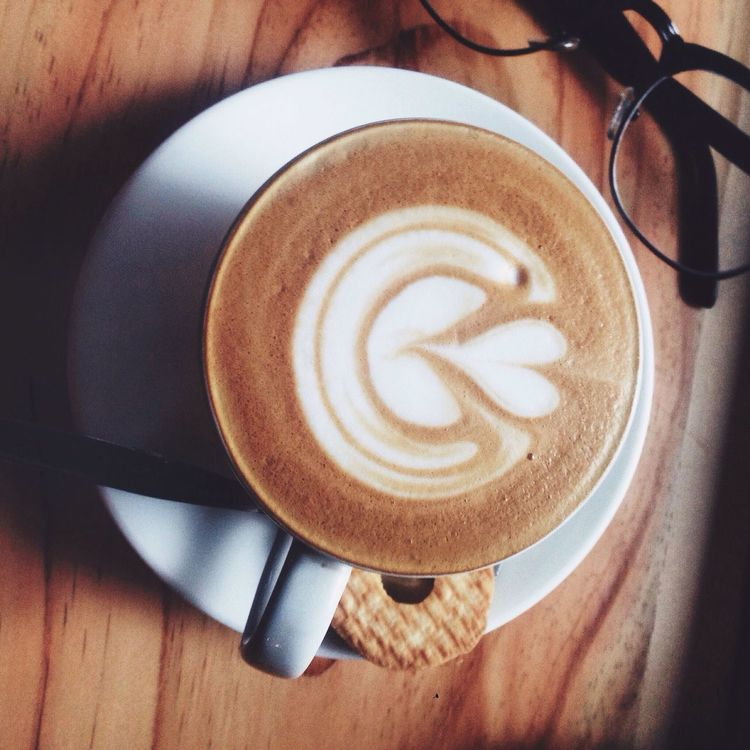 cappucino Coffee Cup Indoors  Food And Drink Coffee - Drink First Eyeem Photo