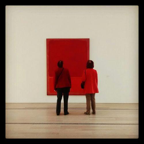 Ladies In Red Foundationbeyerle Mark Rothko Rot