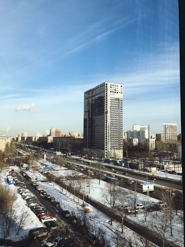Building Exterior Moscow Leninskiyprospekt