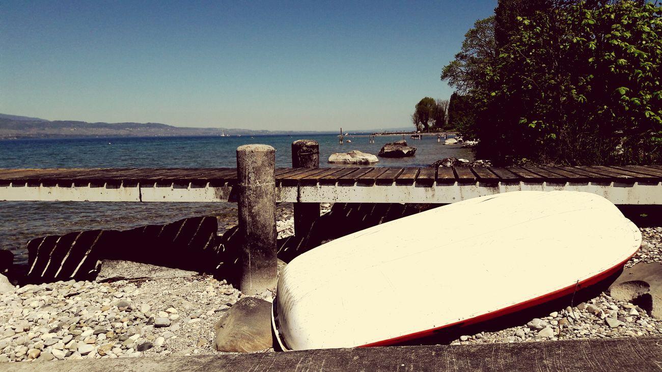 Lake boat nature