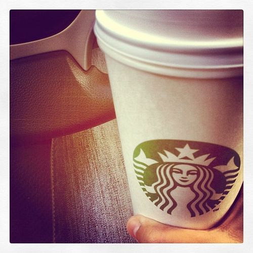 Not sure what the Starbucksdrakehands is about but the videos I've seen from people are funny to me (^.^) Chaitealatte Starbucks FavoriteAddiction