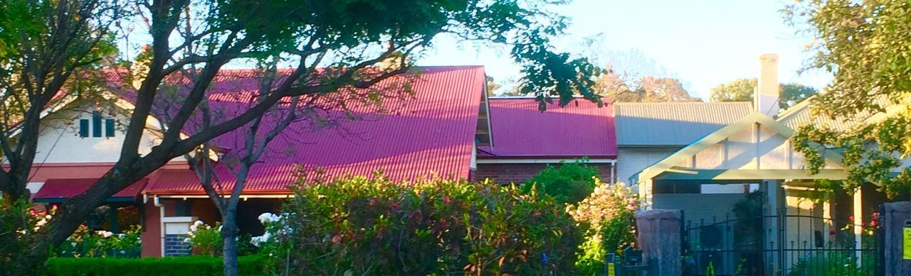Architecture Suburban Sunset