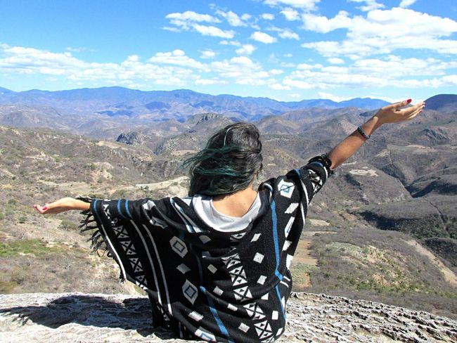 Hierve el agua, Oaxaca Traveling Blue Sky Blue Travel Live Mexico Awesome Vianeycarre Skyporn Sky Myself Oaxaca ThatsMe Self Portrait Nature Hierve El Agua Happiness Selfie ✌ Free Green Incredible