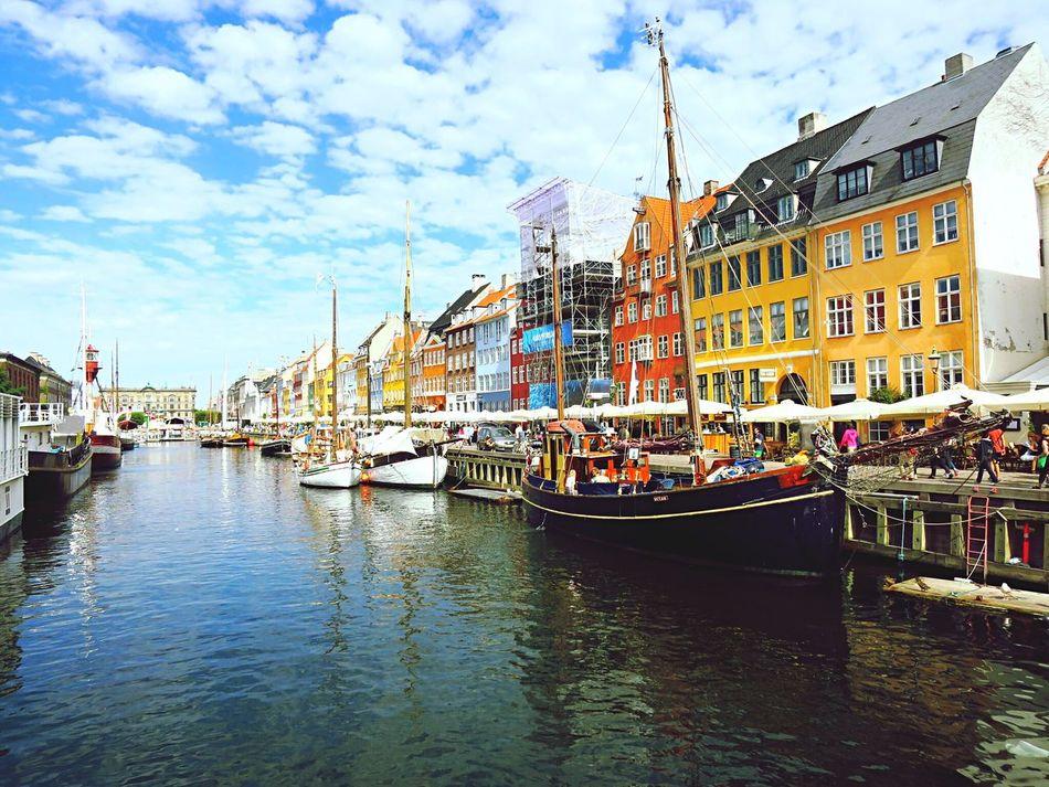 Transportation Harbor Water Danmark Vibrant Color EyeEmDiversity City Outdoors Vacation Time ♡