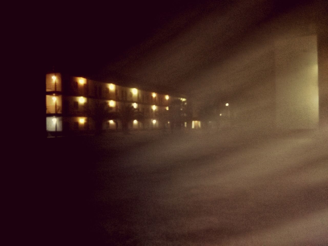 Fog, Night No People Sky Illuminated Outdoors EyeEmNewHere Building Exterior Nature