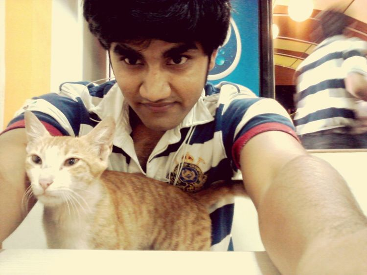 That's Me With My Baby Selfie✌ Cat Lovers