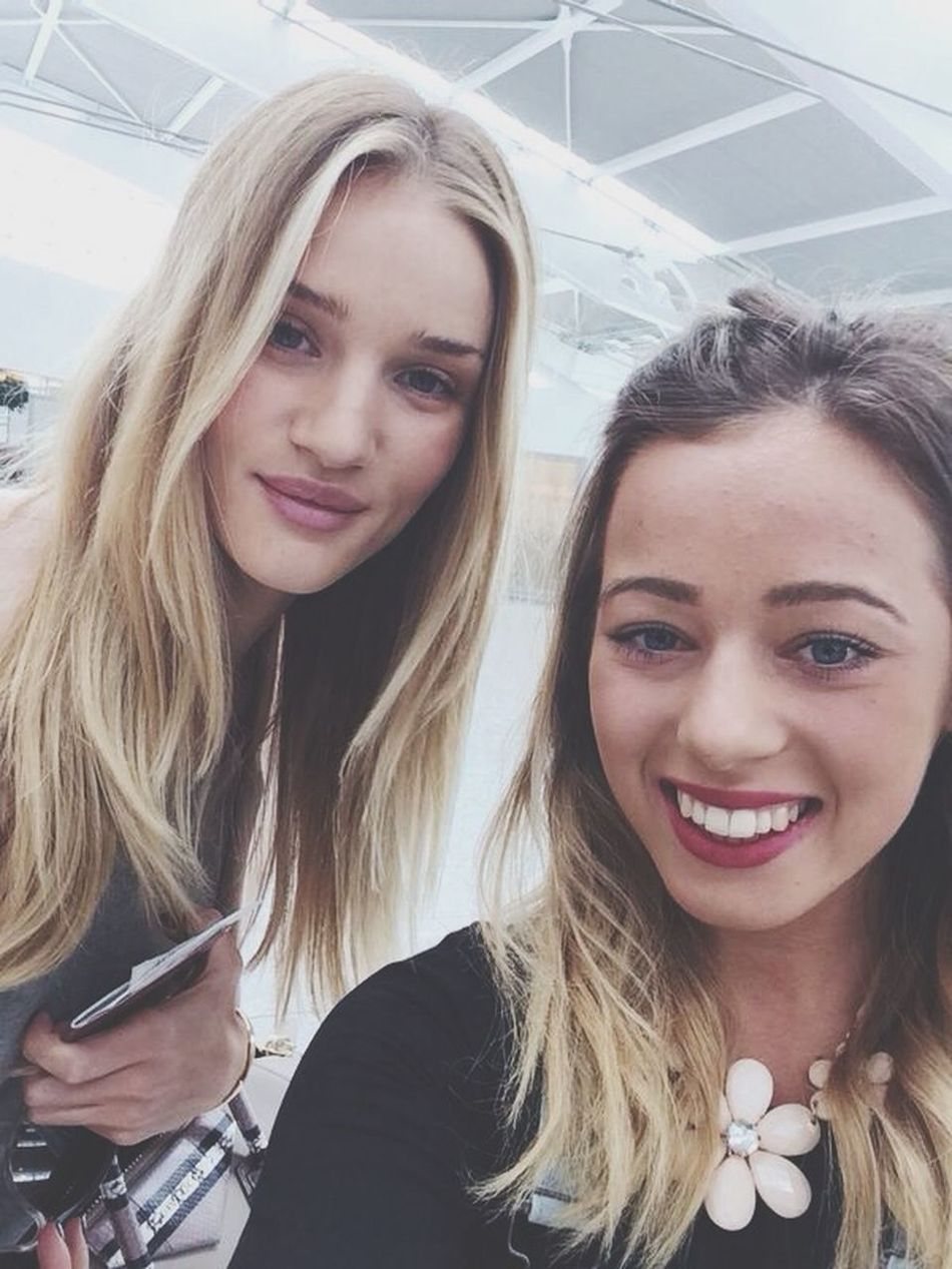 Selfie with my beautiful Rosie Huntington-Whiteley xxxx Model WomanCrushWednesday #RosieHuntington #Transformers #VictoriaSecretModel