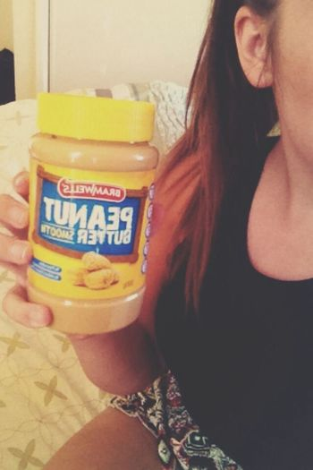 Peanut butter ❤️ Peanutbutter Foodporn Lover Happiness
