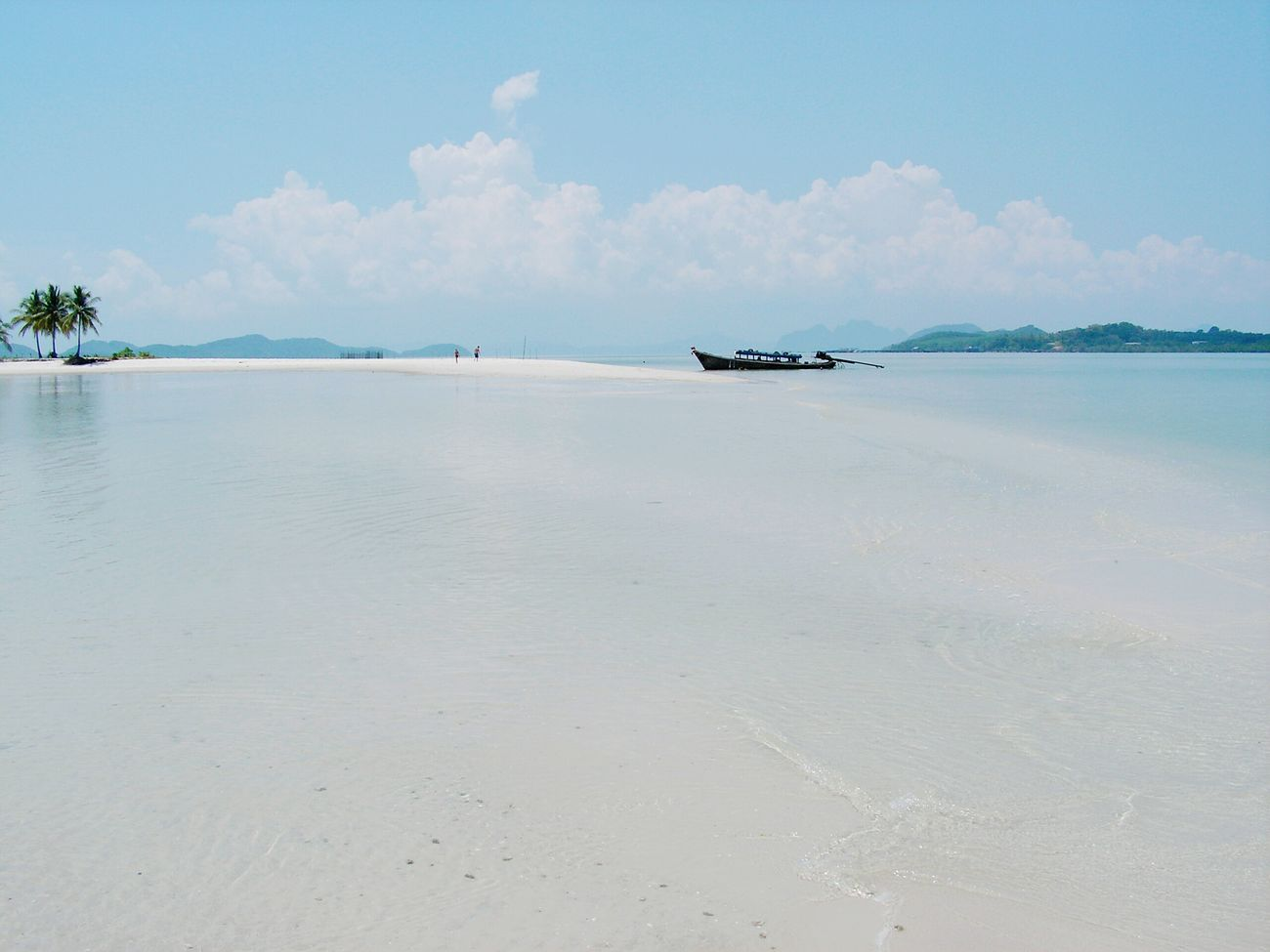 Edge Of The World Sand & Sea Andaman Sea Island Unlimited Boat On The Beach Lonely Boat Peace And Quiet Desertedisland Life Is A Beach