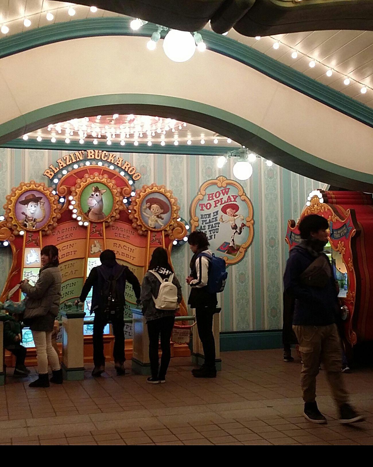 My Son My Son In Tokyo Resort Theme Park Toyville Toyville Trolley Park Toystory Illuminated Tokyodisneysea DisneySea Tokyo Japan JapanDec2016 TokyoDec2016