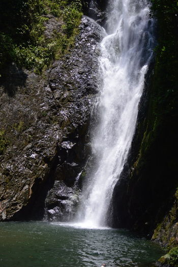 a beautiful waterfall Fiji Islands Nature Nikon Serenity Outdoors Serene Sun Waterfall Perspectives On Nature