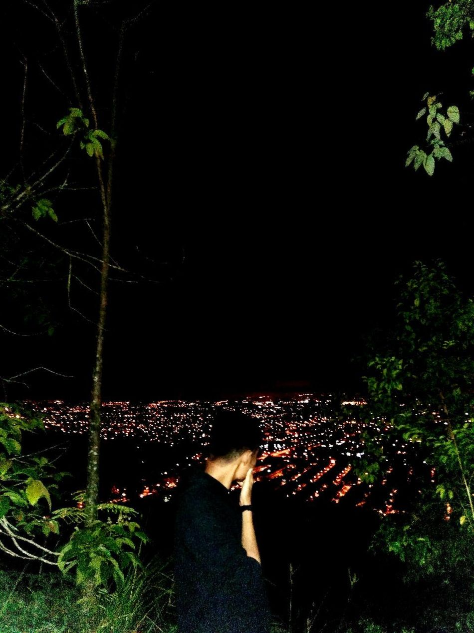 Night at the top of city. IpohMali Enjoying The View Hillclimb Nightphotography Nightlife Night View Nature And City