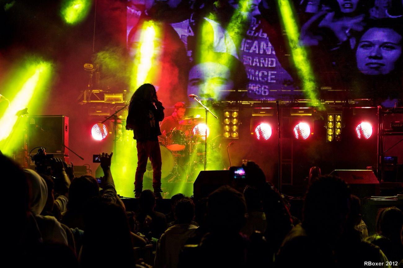 Concert Live Music TheMinimals (less Edit Juxt Photography)