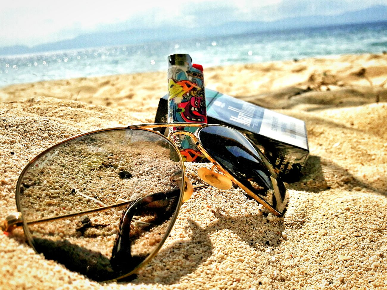 SmokingSummerGlasses 16th Beachbreak Summerfeeling Laxnotlazy Phoneography