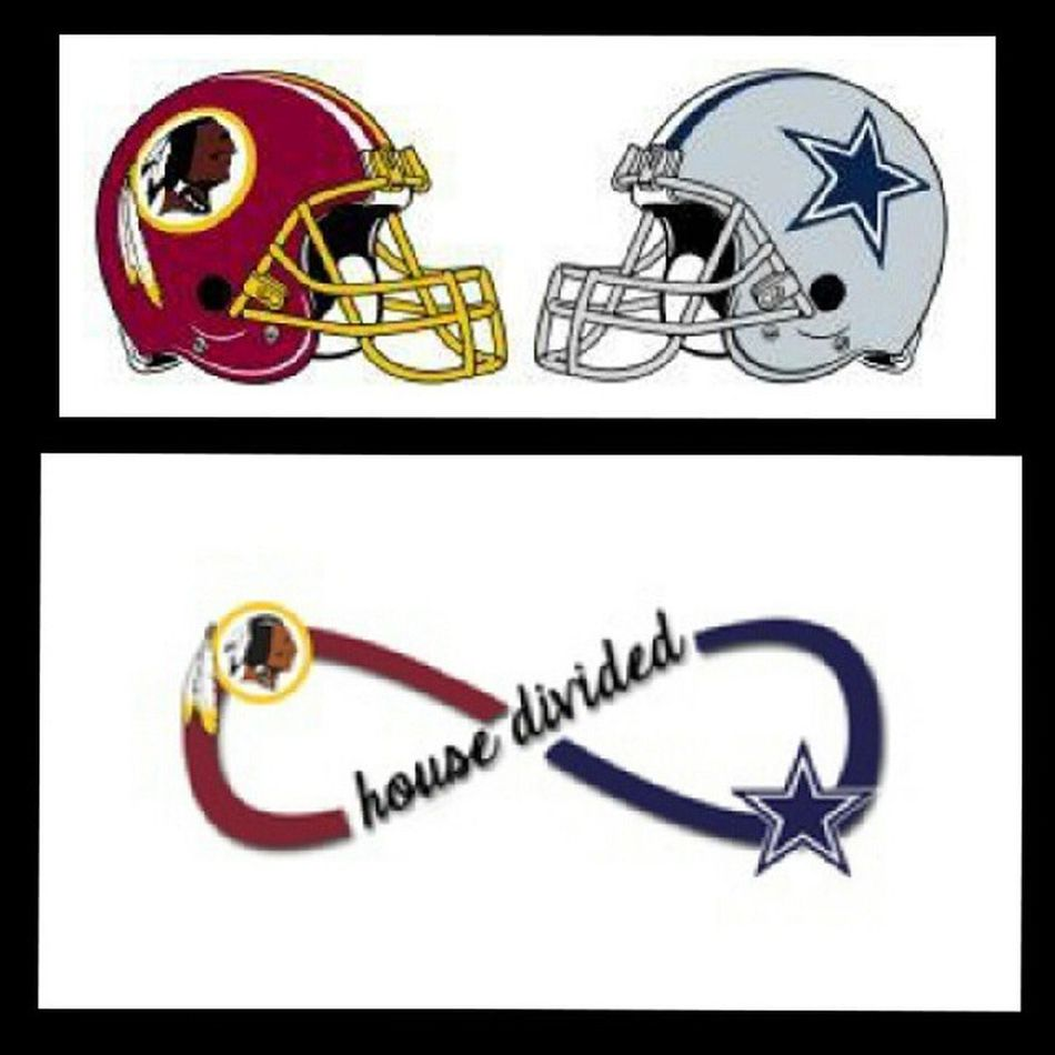Me and my boyfriend's current situation at the apartment... HowBoutThemCowboys !!! GoDallas CowboysNation  Americasteam aHouseDivided HouseDivided Deadskins