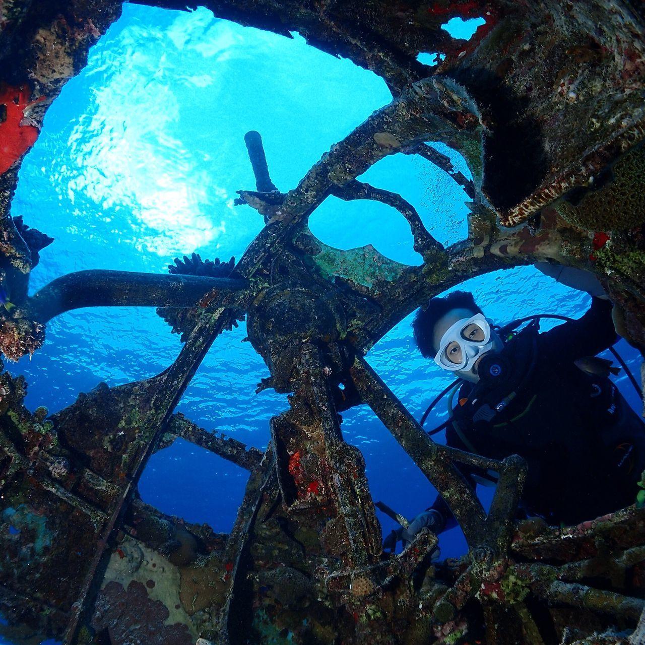 사이판 전투기 스쿠버다이빙 B-29 에밀리 Saipan Wreck Merchinegun 2ndworldwar Underwater Photography Divey2k 송정학강사