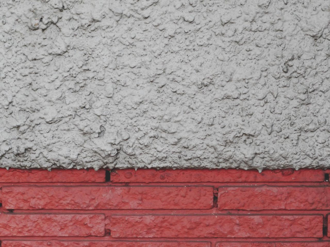 Wall - Building Feature Built Structure Textured  Architecture Building Exterior Brick Red Rough White Color Outdoors City Cracked Backgrounds Paint Day No People Close-up