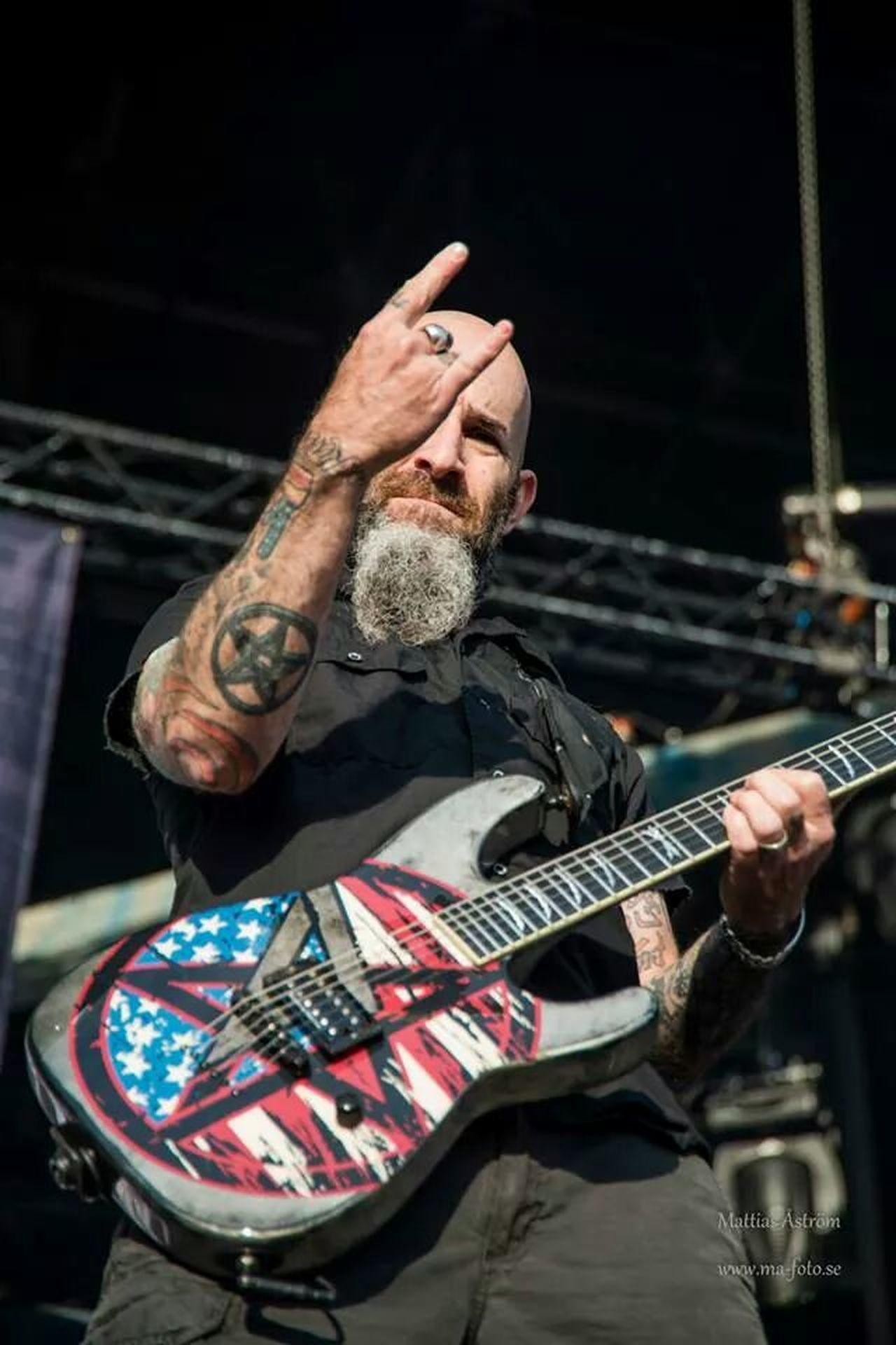Antrax luv on Bråvalla 2014 Anthrax Guitar Festival Bråvalla