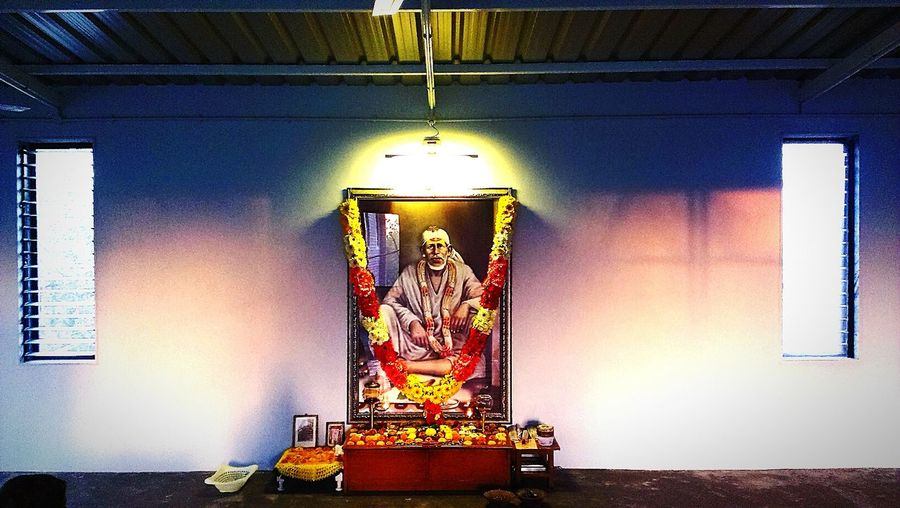 The Places I've Been Today Meditation Meditation Hall ... where I go daily ... Relaxing Peace ✌ Love♥ Quite Place Saint Sai Baba ....