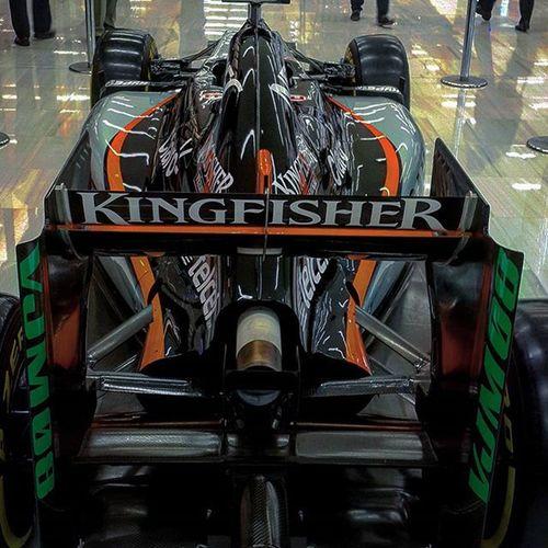 Me encanta la F1. Hoy me encontré DatAss de Forceindia