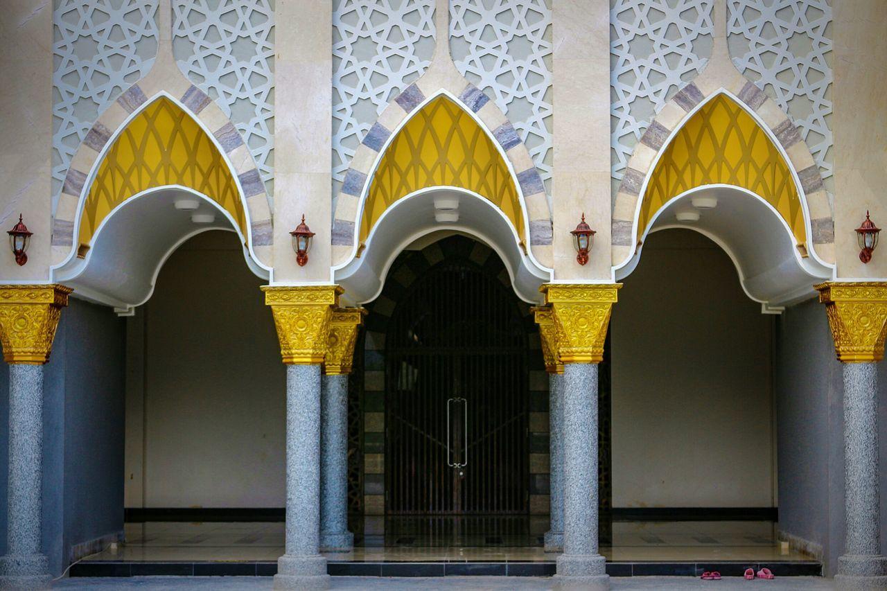 Masjid entrance... Architecture Photography Wonderfulindonesia