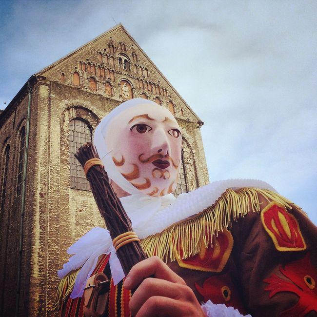 Nivelles Gille Gilles Binche Unesco Folklore Mask